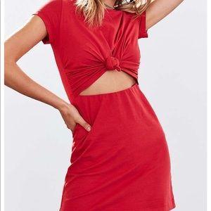 Urban Outfitters Knot T-shirt Dress